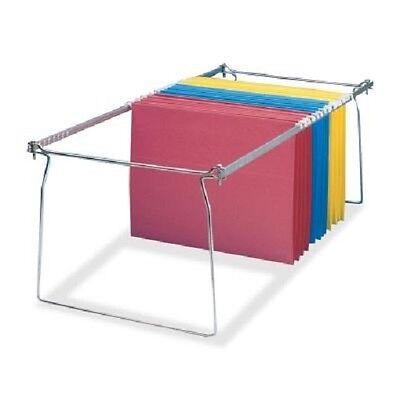 Aluminum Frame Letter - LEO9501 - Hanging File Frame, Letter, Aluminum 2-PACK