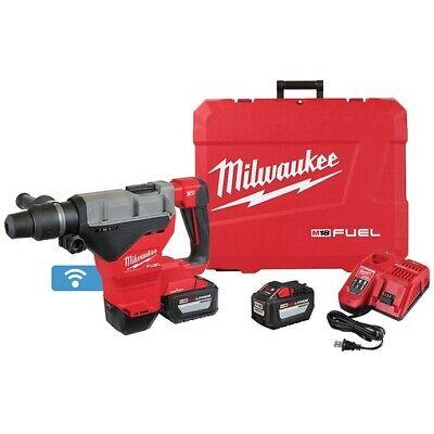 Milwaukee 2718-22hd M18 Fuel 1-34 Sds Max Rotary Hammer Kit W 12.0 Batteries