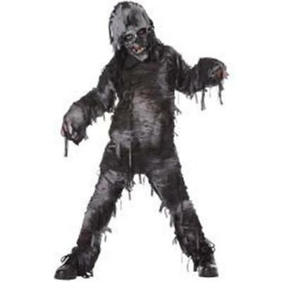 NEW BOYS TOTALLY GHOUL THE ROTTEN DEAD OUTFIT COSTUME HALLOWEEN SIZE L AGE 8/14