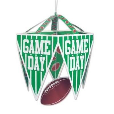 Game Day Football Pennant Chandelier Football Birthday Party Decorations](Football Birthday Games)