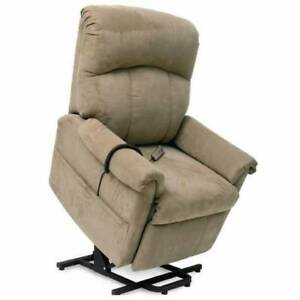 Pride® LC-805 2 Position Wall-Hugger Lift-Chair Color is wheat