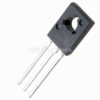 3 X Bd139 - Bd 139 Transistor Si-n 80v 1.5a 12.5w 3 Pcs