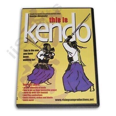 This Is Kendo DVD Alexander Shinai Iaido samurai sword Iai swordsmanship M25
