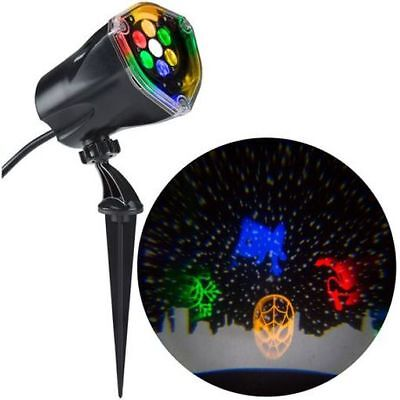 Gemmy Lightshow LED Projection Plus Whirl-A-Motion Static SPIDER-MAN WalMart NIB - Led Christmas Lights Walmart