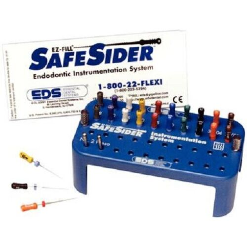Safesider Endodontic Reamers, Intro Kit  25mm - Essential Dental Systems