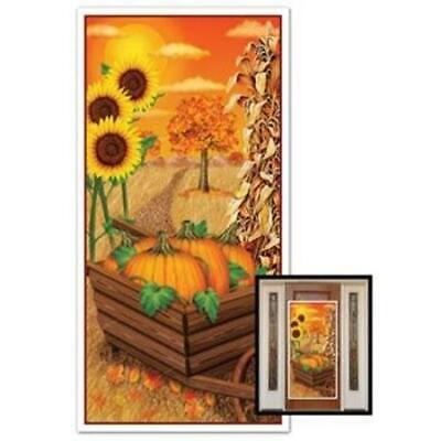 Fall All Weather Door Cover Fall Autumn Thanksgiving Party Decorations
