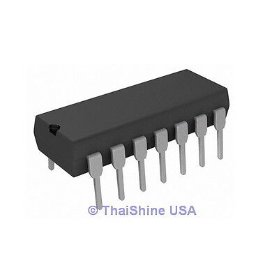 3 X 74ls32 7432 Quadruple 2 Input Positive Or Gate Ic - Usa Seller Free Shipping
