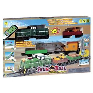 NEW:INFRA-RED REMOTE CONTROL IRON BULL WORK TRAIN