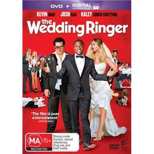 WEDDING RINGER, THE (DVD, 2015) NEW