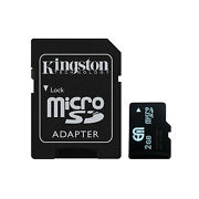 Micro SD 2GB Memory Card TF Flash