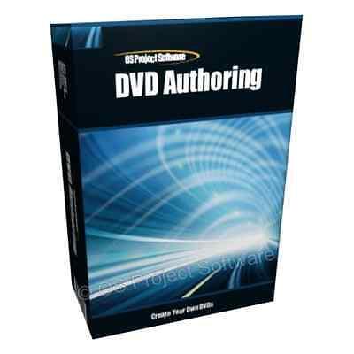 AN DVD Video Editor & Creator Authoring Studio Windows Mac Disc App Software
