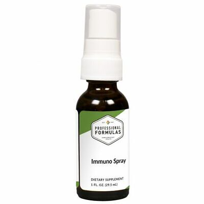 IMMUNO SPRAY PROFESSIONAL FORMULAS HOMEOPATHIC SUPPLEMENTS IMMUNE SYSTEM HEALTH