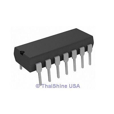 5 X 74hc02 7402 Quad 2-input Nor Gate Ic - Usa Seller - Free Shipping