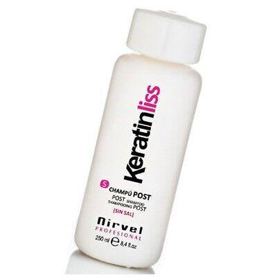 Keratin Hair Post Treatment Shampoo - shiny smooth hair