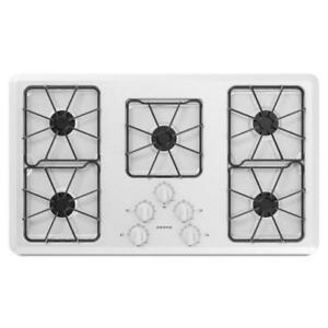 Amana® AGC6356KFW Gas Cooktop With Front Controls 36-Inch Wide-Brand New(MP_94)