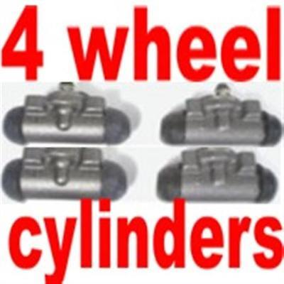 All four wheel cylinders Chevrolet 1955 1956 1957 Brand New