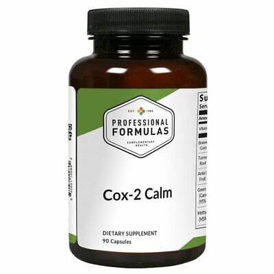 COX-2 CALM PROFESSIONAL FORMULAS DIETARY SUPPLEMENTS PAIN INFLAMMATION IMMUNE
