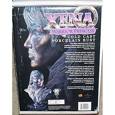 Xena Character Ltd Numbered Cold Cast Porcelain Bust #2
