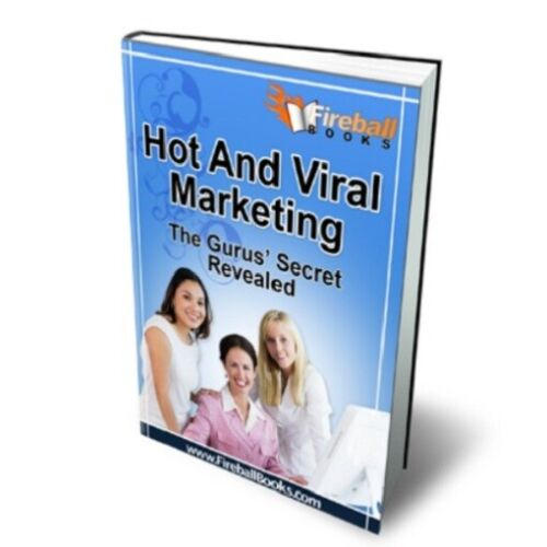 Hot And Viral Marketing PDF eBook with Full resale rights!