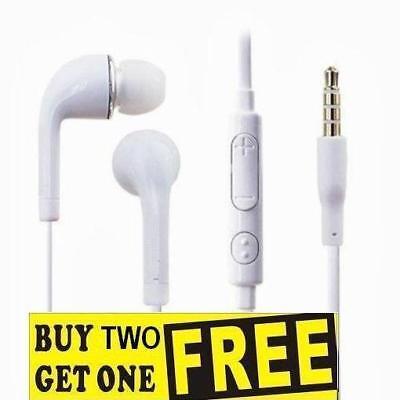 Headphones Earphones Headset Mic For Samsung Galaxy A3 A5 J1 J2 C9 Pro