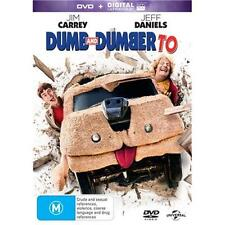 DUMB AND DUMBER TO Jim Carey & Jeff Daniels (DVD, 2015)