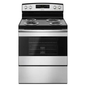 Amana® YACR4303MFS Electric Range With Bake Assist Temps 30-Inch-Brand New(MP_79)
