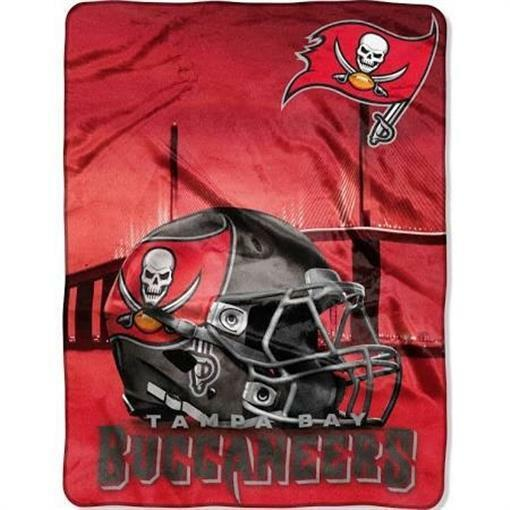 df49a679 Details about Northwest 60 x 80 in. NFL - Tampa Bay Buccaneers Silk Touch  Throw