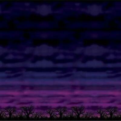 Halloween Spooky Sky 30-foot Backdrop](Halloween Sky Background)