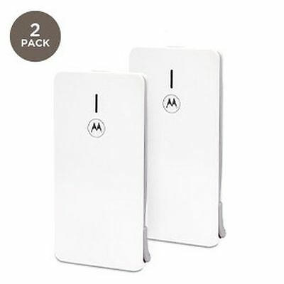 Motorola All-encompassing Double Charger Slim battery Power Bank USB P2000 2 Pack 2000