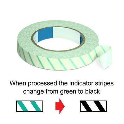 Sterilization Steam Indicator Tape 34x 60 Yard Roll