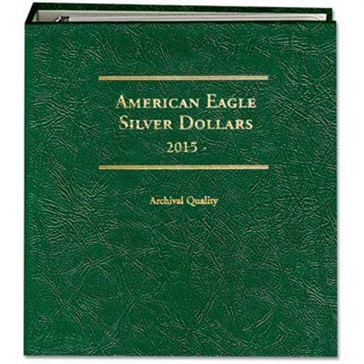 Coin Album For Collecting Silver Eagles ASE 2015 Date Littleton LCA79 Man Gift
