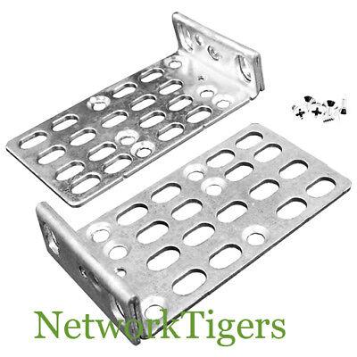 - For Cisco Catalyst 2950 C2950 Switch Rack Mount Rackmount Brackets Kit Ears