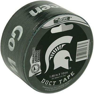 2 NEW ROLLS MICHIGAN STATE SPARTANS DUCT TAPE GREEN 1.88 IN X 54.6 covid 19 (Michigan State Spartans Green coronavirus)