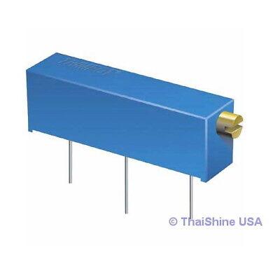 10 X 1m Ohm Trimpot Trimmer Potentiometer 3006p 3006 - Usa Seller - Free Ship