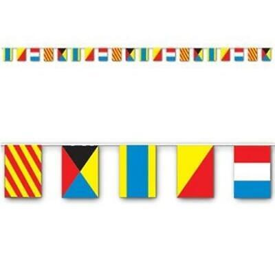 Nautical All-Weather Flag Banner Nautical Cruise Party Birthday Decoration