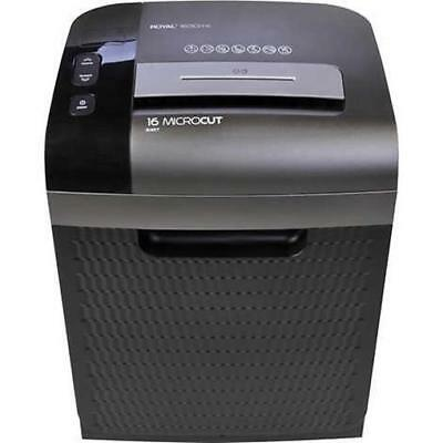 Royal Consumer Information Products 16 Sheet Commercial Cross Cut Paper Shredder