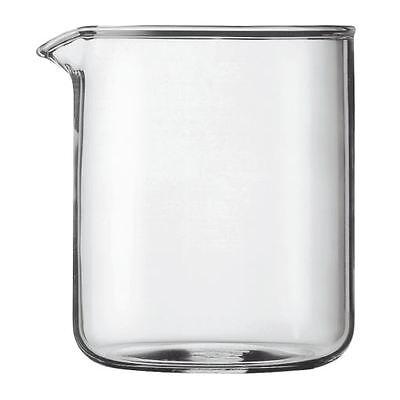 Kaffeemaschine Ersatz Becher Glas (Bodum Transparentes Glas Ersatzteile Kaffeemaschine Becherglas 4 Cup 0.5L (17oz))