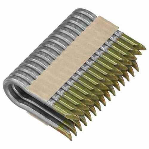 "NEW~Box of 930 DEWALT 2"" x 9 GA Galvanized Barbed Papertape Fencing Staples"