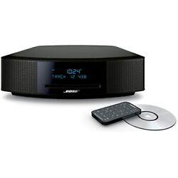 Bose Wave Music System IV CD Player Radio Alarm Clock BLACK ESPRESSO 737251-1710