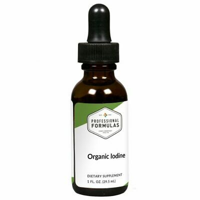 ORGANIC IODINE PROFESSIONAL FORMULAS SUPPLEMENTS KELP MINERAL ANTIOXIDANTS