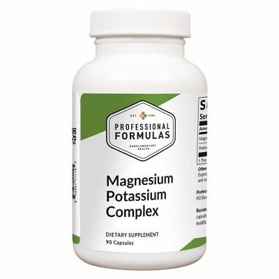 MAGNESIUM POTASSIUM COMPLEX PROFESSIONAL FORMULAS SUPPLEMENTS AMINO ACIDS