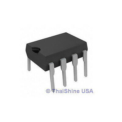 10 x TL072 LOW NOISE J-FET DUAL OP-AMP IC - USA Seller - Free -