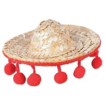 Sombrero Hair Clip Cinco de Mayo Fiesta Mexican Costume Accessories
