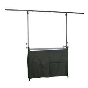 Black Curtain Cover Scrim for 4ft DJ Deck Stand