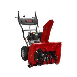 New 24 inches Gas Dual Stage Snowblower CRAFTSMAN West Island Greater Montréal image 1