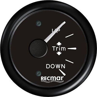 BLACK TRIM GAUGE FOR MERCURY MARINER  OUTBOARD 160-10Ω signal