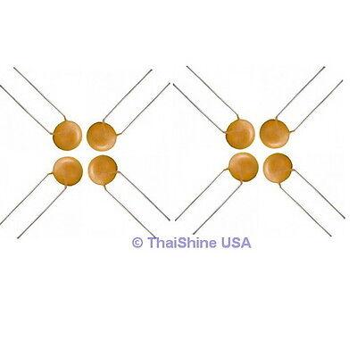 100 X 22pf 50v Ceramic Disc Capacitors - Usa Seller - Free Shipping