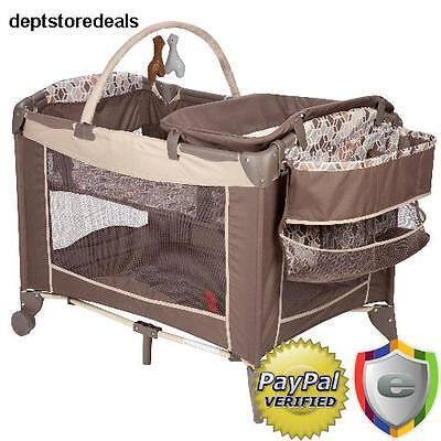 Bassinet Baby Bed Portable Nursery Crib Sleeper Newborn Infant Playpen Yard Cube
