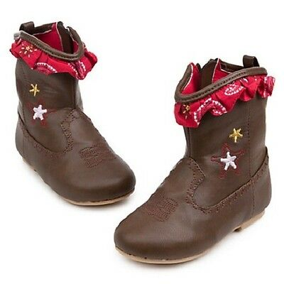 JeSSiE~bAbY~BOOTS~Cowboy~Costume~Infant~Girls 0-3yr~ToY StorY~NWT~Disney Store