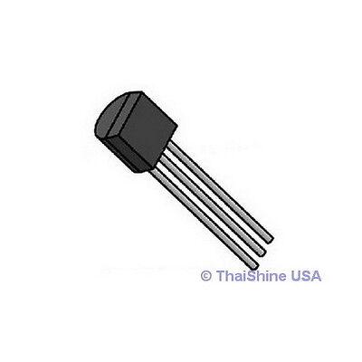 50pcs Bc556b Bc556 Transistor Pnp 65v 0.1a - Usa Seller -free Shipping